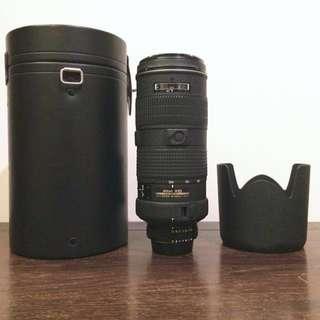 Nikon AF-S 80-200mm f2.8 D 小黑4