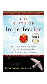 The Gifts of Imperfection by Brene Brown (ebook)