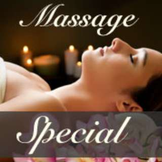 LIMITED TIME OFFER ! Massage for Ladies only!