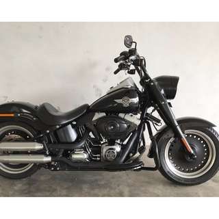 2011 Harley Davidson FLSTFB Fat Boy Special