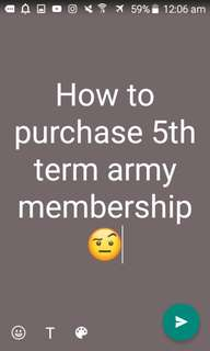 (Need help) BTS OFFICIAL 5TH MEMBERSHIP