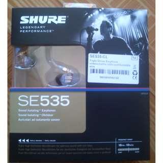 Authentic Shure SE535