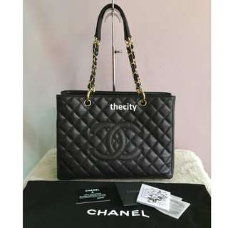 AUTHENTIC CHANEL GST TOTE BAG  - NEVER BEEN USED !