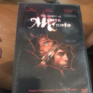 The count of monte cristo dvd
