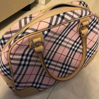 Burberry 手袋 限量版粉紅色