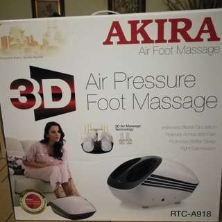 BNIB Akira air pressure foot massage RTC A918
