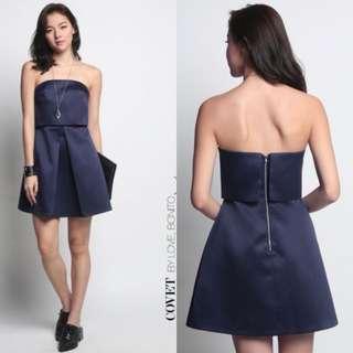 Love Bonito - Covet Berith Tube Dress (Navy)