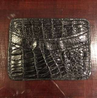 Crocodile Leather Cardcase