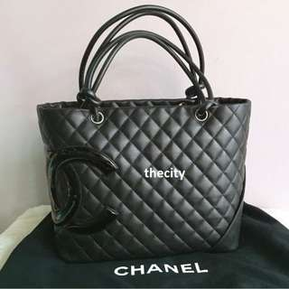 AUTHENTIC CHANEL CAMBON LARGE TOTE - NEVER BEEN USED !