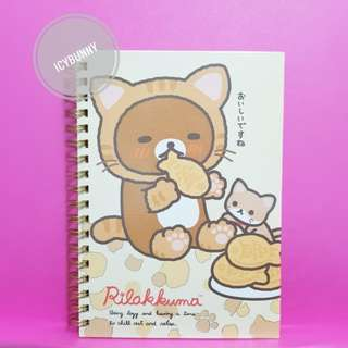 Rilakkuma Notebook San-X Stationary
