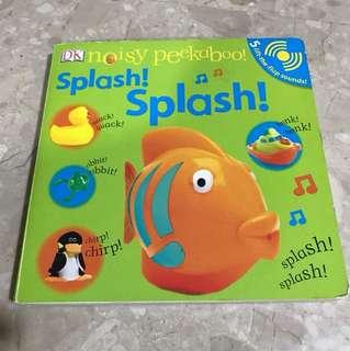 Board book ; splash splash noisy peekaboo