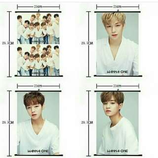 WANNA ONE HANGING POSTER