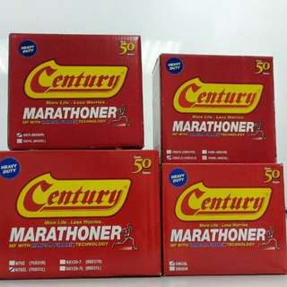 Car battery bateri kereta Century/Amaron Delivery 24hour