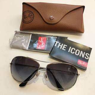 "Ray-Ban RB3293 ""Bubble Wrap Aviator"" 63mm Sunglasses"