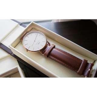 daniel wellington classic st mawes dw 36mm 40mm size watch