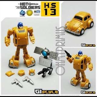 Mech Planet Hot Soldiers H.S HS-13 HS13 - Transformers Legends Scale Goldbug