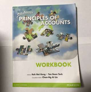 All About Principles Of Accounts Workbook