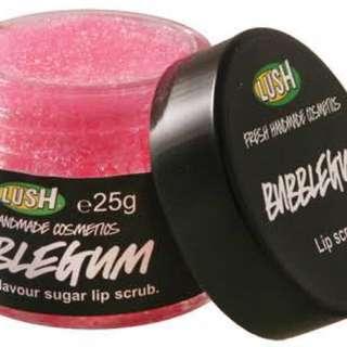 Lush Lip Scrub in Bubblegum