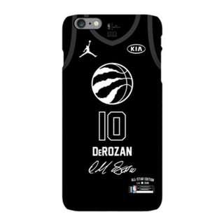 **2017-2018 NBA全明星賽DeRozan磨沙手機殼(iPhone)**