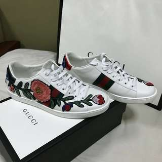 Original Gucci Ace Embroidered Sneaker Floral