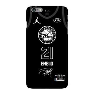 **2017-2018 NBA全明星賽Embiid磨沙手機殼(iPhone)**