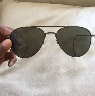 John varvatos aviator sunglasses