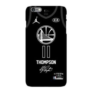 **2017-2018 NBA全明星賽Klay Thompson磨沙手機殼(iPhone)**