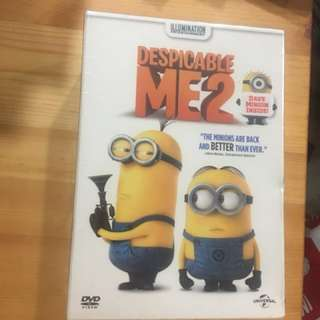 Brand new despicable Me 2 DVD