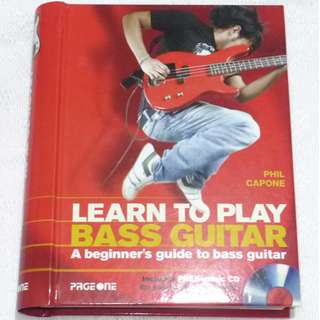Learn to Play Bass Guitar (w/ CD)