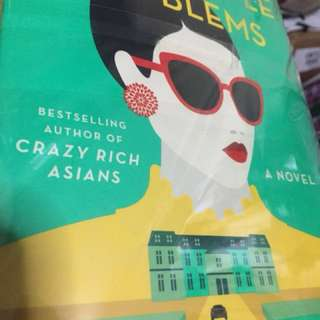 Rich People Problems by Kevin Kwan (big book Fully Booked bnew price is Php795)
