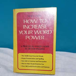 Reader's Digest: How to Increase Your Word Power