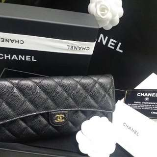 Chanel Timeless Classic Long Wallet