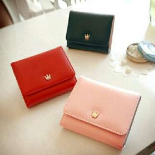Korean like pink wallet