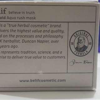 Belif First Aid Aqua Rush Mask