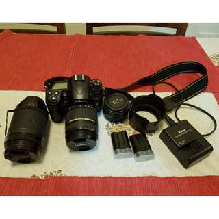 Nikon D7000 with 2 zoom lenses for sale. In very good condition and cared for. Selling because I'm moving to micro 4/3.