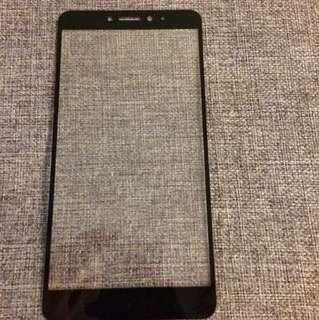 小米MAX2全屏玻璃貼(黑色)