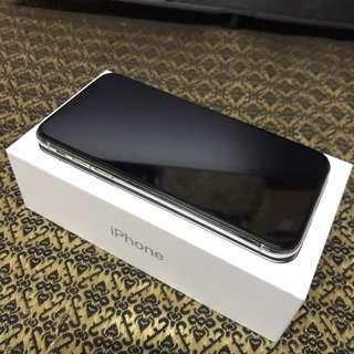 iPhone X 256銀
