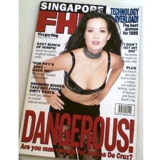 Singapore FHM - February 1999