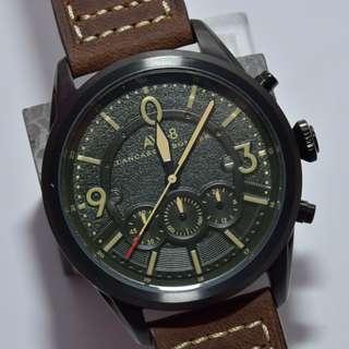 AVI-8 - 4024 - Lancaster Bomber military wrist watch 5ATM 軍錶 啡色真皮帶 深綠色錶面 米色字 (請留意下面Information)