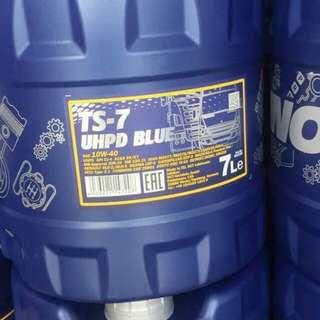 MANNOL TS-7 10W40 Fully Synthetic Diesel Engine Oil (7L)