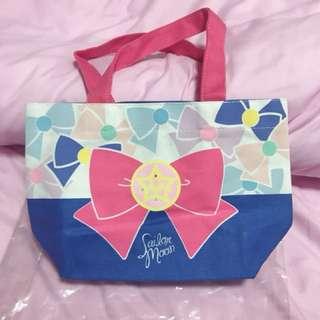 全新日本直購 Sailor Moon 美少女戰士帆布袋 飯盒袋