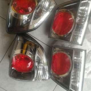 Stoplamp fortunner 2013 pull set