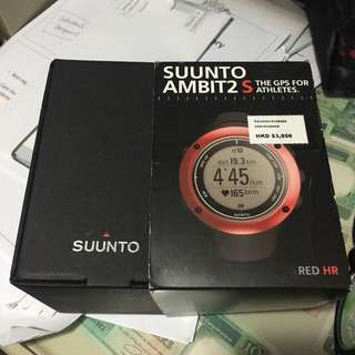 SUUNTO AMBIT 2 S GPS 電子 心跳偵測 錶