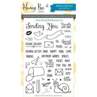 Honey Bee Special Delivery Stamp Set