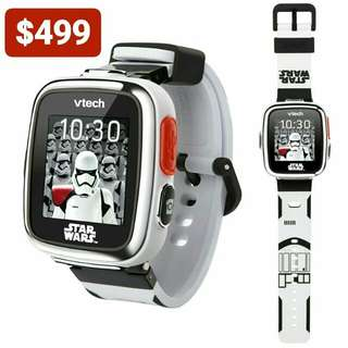 $499 VTech Star Wars First Order Stormtrooper Smartwatch with Camera Limited Edition