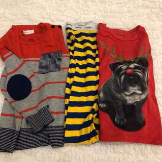 3 for $15 Baby GAP Pumpkin Patch Boys 2years old