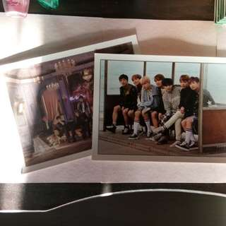 BTS photoframe (From wings concept book)