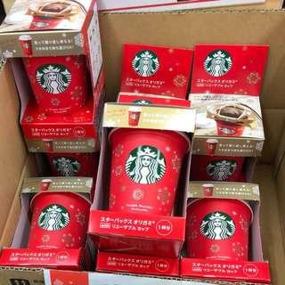 日本代購🇯🇵Starbucks聖誕節限定 環保杯