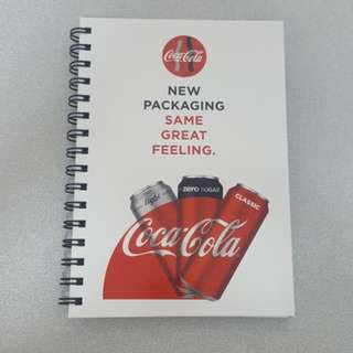 Limited Edition Coke Hardcover Notebook