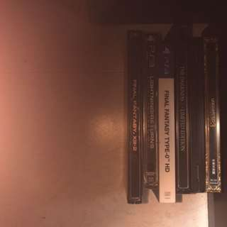 PS3 steel book with games